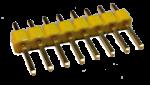 pinheader single yellow pic